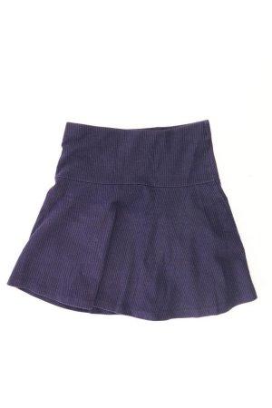 Esprit Stretchrock Größe S gestreift blau aus Baumwolle