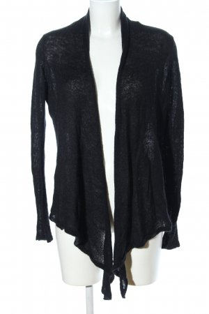 Esprit Strick Cardigan schwarz Casual-Look