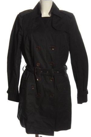 Esprit Trenchcoat schwarz Casual-Look