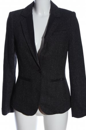 Esprit Knitted Blazer black flecked business style
