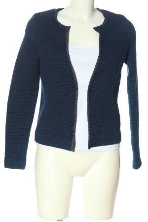 Esprit Blazer in maglia blu stampa integrale stile professionale