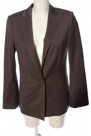 Esprit Strickblazer braun Business-Look