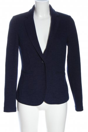 Esprit Blazer tejido azul moteado look casual