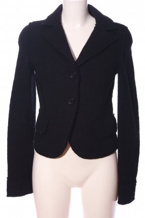 Esprit Strickblazer schwarz Casual-Look