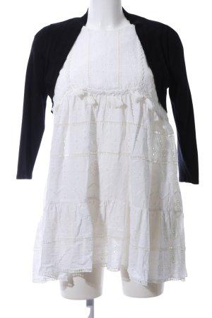 Esprit Torera de punto negro-blanco look casual