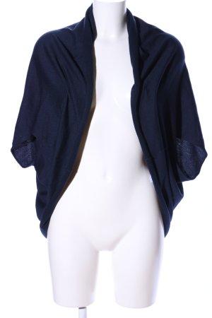 Esprit Strickbolero blau Casual-Look