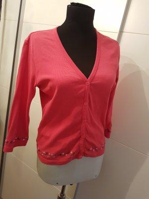 Esprit Strickjacke pink rosa Vintage