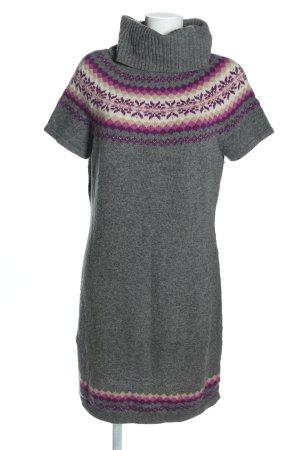 Esprit Vestido de lana estampado gráfico look casual