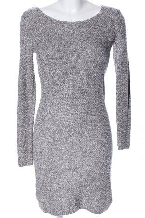 Esprit Robe en maille tricotées gris clair moucheté style décontracté