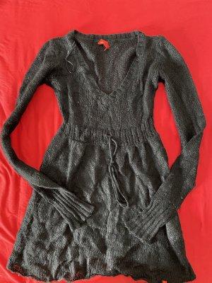 Esprit strickkleid / Kleid schwarz Gr.XS