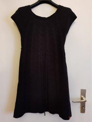 Esprit Strickkleid schwarz