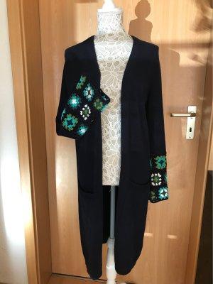 Esprit Knitted Coat dark blue