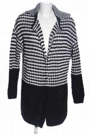 Esprit Knitted Coat black-white casual look