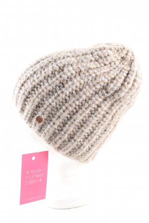 Esprit Knitted Hat natural white flecked casual look