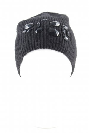 Esprit Knitted Hat black cable stitch casual look