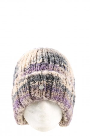 Esprit Knitted Hat abstract pattern casual look