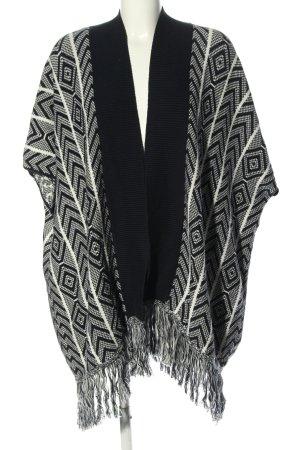 Esprit Poncho en tricot imprimé allover style décontracté