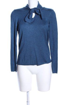 Esprit Strickpullover blau meliert Casual-Look