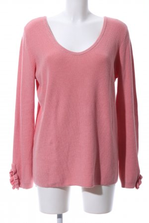 Esprit Strickpullover pink Casual-Look