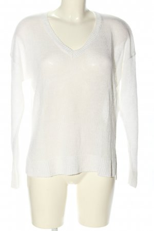 Esprit Pull tricoté blanc style décontracté