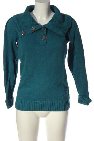 Esprit Strickpullover blau Casual-Look
