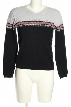 Esprit Strickpullover grafisches Muster Casual-Look