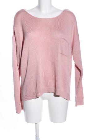 Esprit Jersey de punto rosa look casual