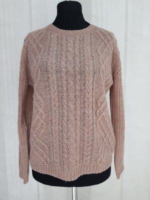 Esprit Jersey de lana rosa empolvado