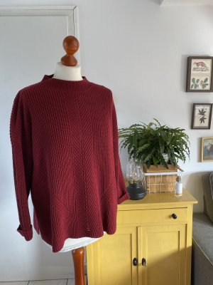 Esprit Strickpullover XL rot Pullover Pulli Strick Herbst Winter