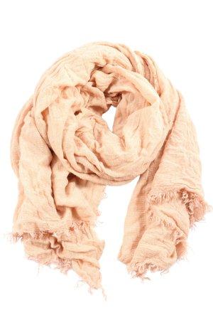 Esprit Écharpe en tricot rose chair style décontracté