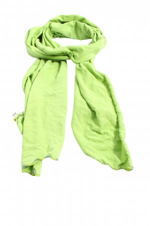 Esprit Écharpe en tricot vert style décontracté