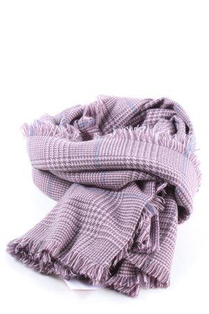 Esprit Écharpe en tricot motif à carreaux style décontracté