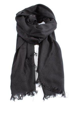 Esprit Écharpe en tricot noir style décontracté