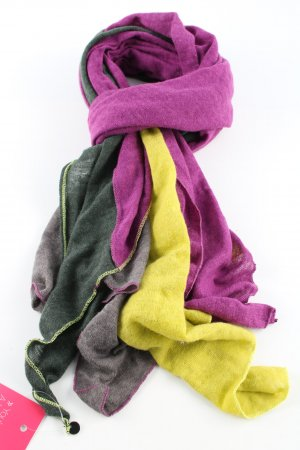 Esprit Bufanda de punto multicolor look casual