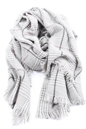 Esprit Bufanda de punto blanco-gris claro look casual