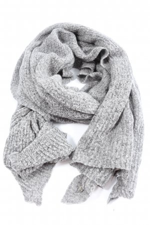 Esprit Knitted Scarf light grey flecked casual look