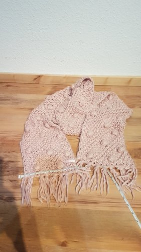 Esprit Crochet Scarf pink-light pink