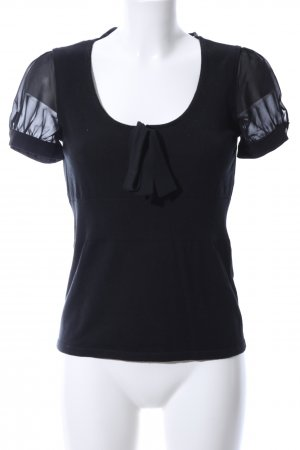 Esprit Camicia maglia nero stile casual