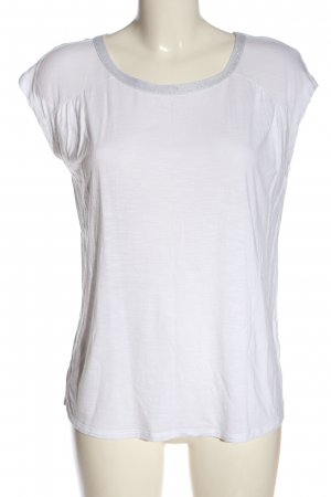 Esprit Strickshirt weiß-hellgrau Casual-Look