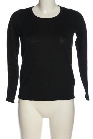Esprit Gebreid shirt zwart casual uitstraling
