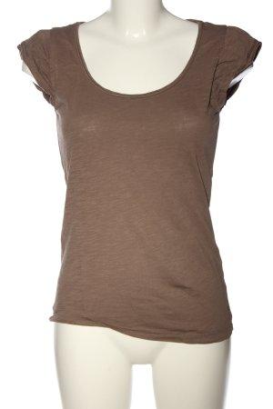 Esprit Strickshirt khaki meliert Casual-Look