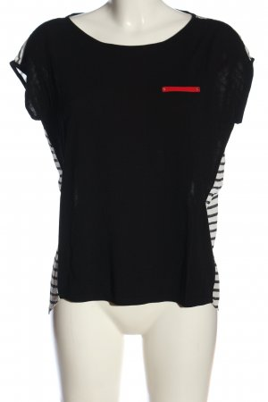 Esprit Strickshirt Streifenmuster Casual-Look