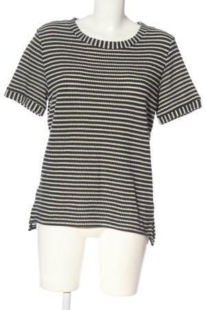 Esprit Koszulka z dzianiny Wzór w paski W stylu casual