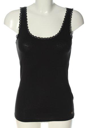 Esprit Gebreide top zwart casual uitstraling
