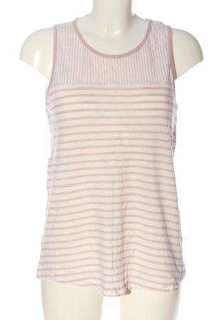 Esprit Gebreide top wit-roze volledige print casual uitstraling