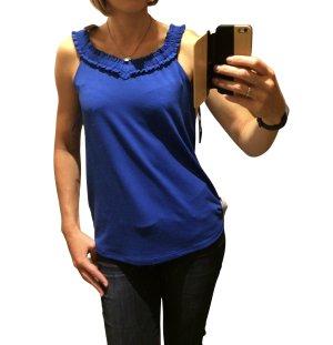 Esprit Gebreide top blauw casual uitstraling