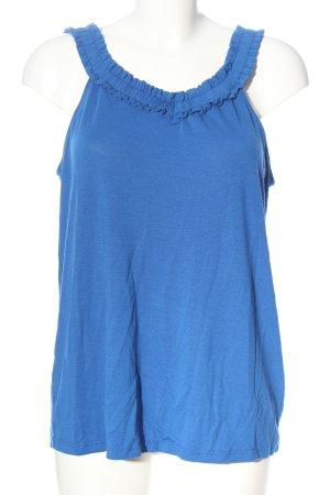 Esprit Top z dzianiny niebieski W stylu casual