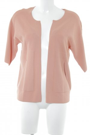 Esprit Strickweste apricot Webmuster Casual-Look