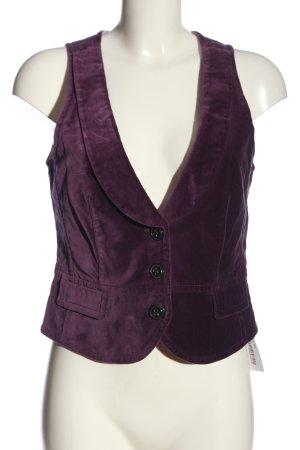 Esprit Gilet de costume violet style décontracté