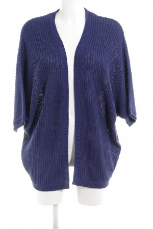 Esprit Strickweste blau Casual-Look